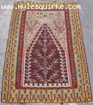 Turkish Erzurum Prayer-Kilim
