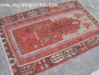 Turkish Sivas Prayer Kilim