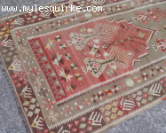 Turkish Kayseri Prayer Kilim