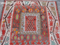 Turkish Sandikli Kilim