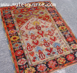 Turkish Konya Prayer Rug